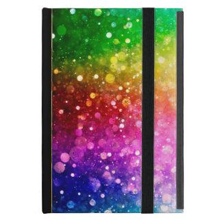 Brillo moderno de Bokeh de los colores vibrantes iPad Mini Cárcasa
