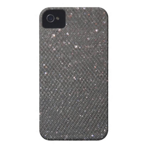 Brillo negro carcasa para iPhone 4