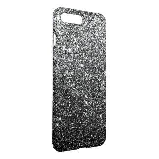 Brillo negro elegante funda para iPhone 7 plus