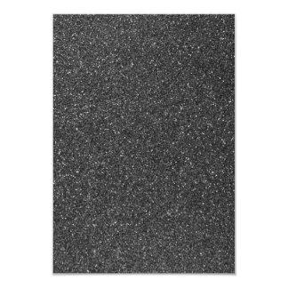 Brillo negro invitación 8,9 x 12,7 cm