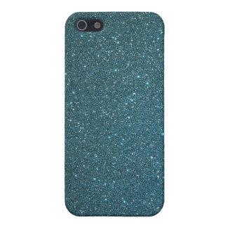 """Brillo """"patinador """" del verde azul de la caja de l iPhone 5 cobertura"""