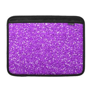 Brillo púrpura brillante del reflejo fundas MacBook