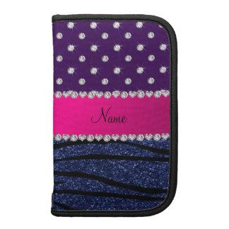 Brillo púrpura conocido de los azules marinos de planificador
