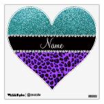 Brillo púrpura conocido personalizado de la turque