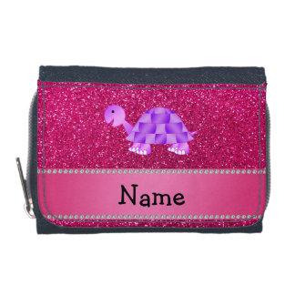 Brillo púrpura conocido personalizado del rosa de