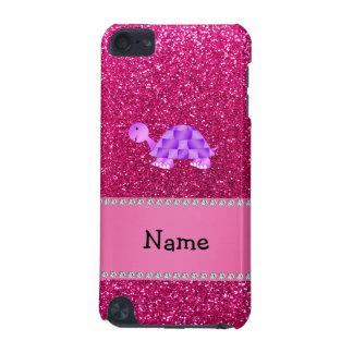 Brillo púrpura conocido personalizado del rosa de  funda para iPod touch 5G
