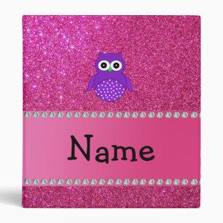 Brillo púrpura conocido personalizado del rosa del