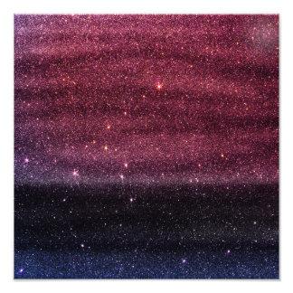 Brillo púrpura de la pendiente falso y azul fotografía