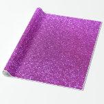 Brillo púrpura de neón