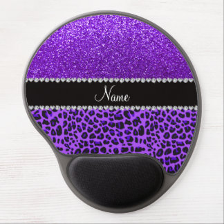 Brillo púrpura del añil púrpura conocido de encarg alfombrilla con gel