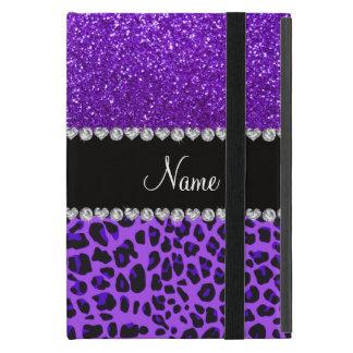 Brillo púrpura del añil púrpura conocido de iPad mini coberturas