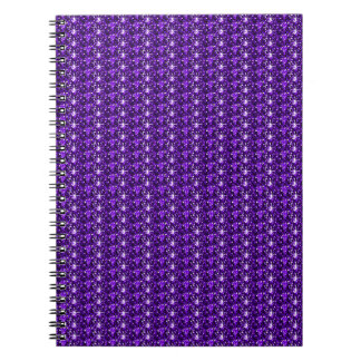Brillo púrpura del cuaderno