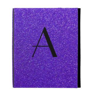 Brillo púrpura del monograma