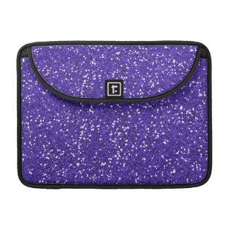 Brillo púrpura elegante funda macbook pro