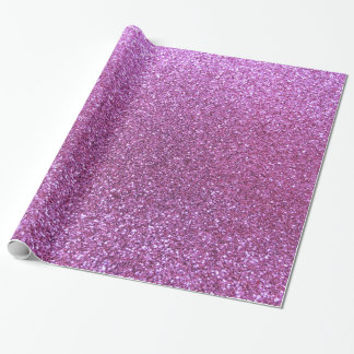 Brillo púrpura en colores pastel