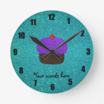 Brillo púrpura lindo de la turquesa de la magdalen reloj