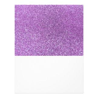 Brillo purpúreo claro tarjeta publicitaria