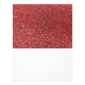 Brillo rojo claro tarjeton