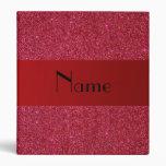 Brillo rojo conocido personalizado