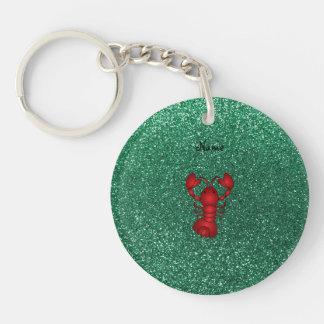 Brillo rojo personalizado de la verde menta de la