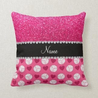 Brillo rosado conocido de encargo del rosa color d almohadas