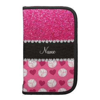 Brillo rosado conocido de encargo del rosa color d planificadores