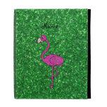 Brillo rosado conocido personalizado del verde del