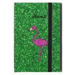 Brillo rosado conocido personalizado del verde del iPad mini cobertura