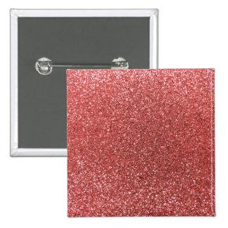 Brillo rosado coralino pin
