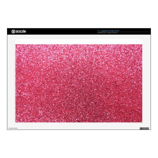Brillo rosado fucsia portátil skins