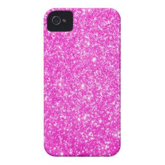 Brillo rosado iPhone 4 protectores