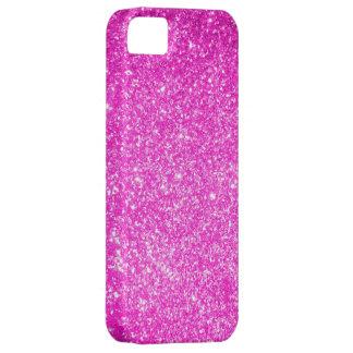 Brillo rosado iPhone 5 carcasas