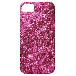 Brillo rosado iPhone 5 funda