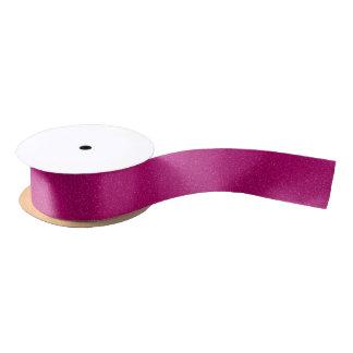 Brillo rosado lazo de raso