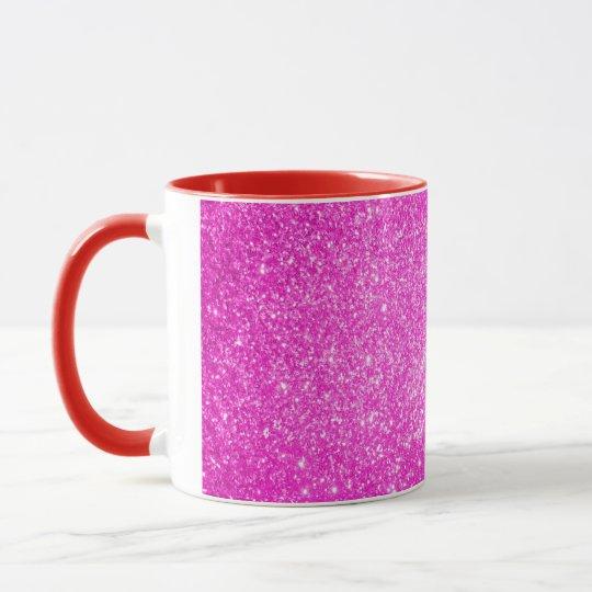 Brillo rosado taza