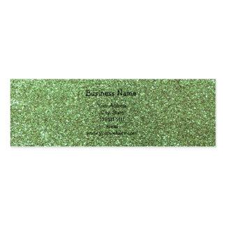Brillo verde claro plantillas de tarjetas personales
