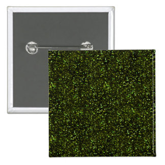 Brillo verde oscuro pin cuadrado