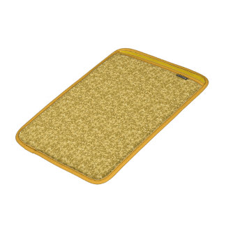 Brillo y chispas del oro funda  MacBook