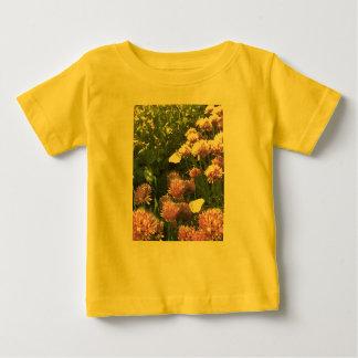 Brimstone Butterflies in the Herb Garden Baby T-Shirt