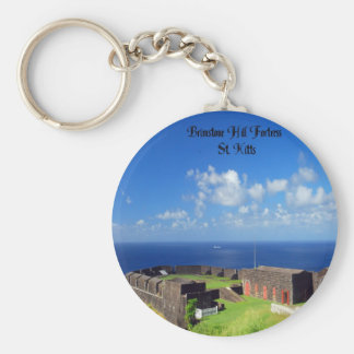 Brimstone Hill Fortress, St. Kitts Keychain