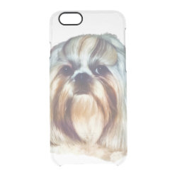 Uncommon iPhone 6 Clearly™ Deflector Case with Shih Tzu Phone Cases design