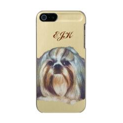 Incipio Feather Shine iPhone 5/5s Case with Shih Tzu Phone Cases design