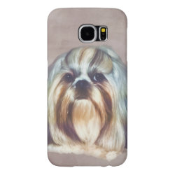 Case-Mate Barely There Samsung Galaxy S6 Case with Shih Tzu Phone Cases design