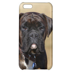 Case Savvy Matte Finish iPhone 5C Case with Boxer Phone Cases design