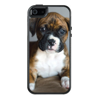 Brindle Boxer Puppy OtterBox iPhone 5/5s/SE Case