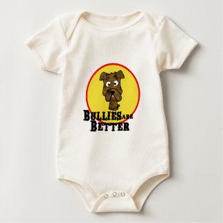 Brindle Bulldog/Mastif (Bullies are Better) Baby Bodysuit