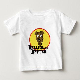 Brindle Bulldog/Mastif (Bullies are Better) Baby T-Shirt
