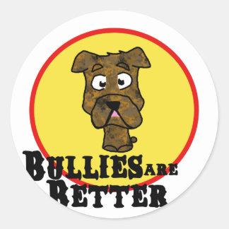 Brindle Bulldog/Mastif (Bullies are Better) Stickers