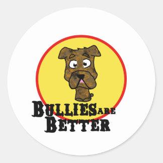 Brindle Bulldog/Mastif (Bullies are Better) Sticker