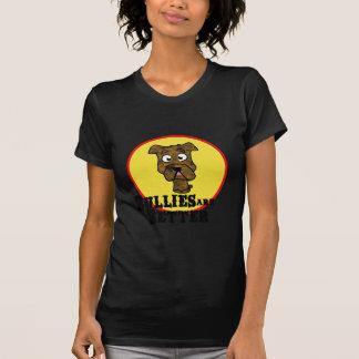 Brindle Bulldog/Mastif (Bullies are Better) T-Shirt